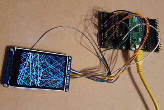 Waveshare LCD and CircuitPython