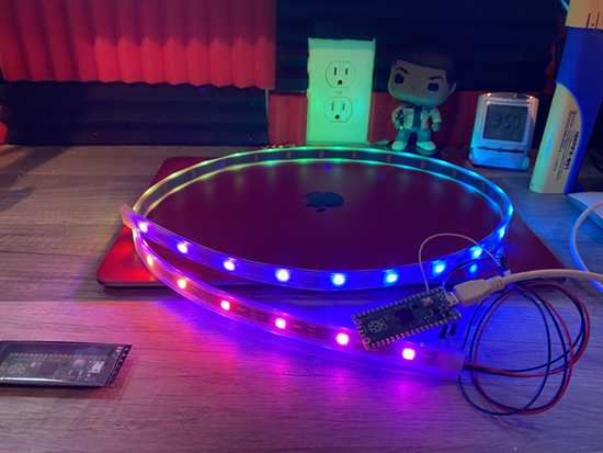 Pico and NeoPixel LEDs