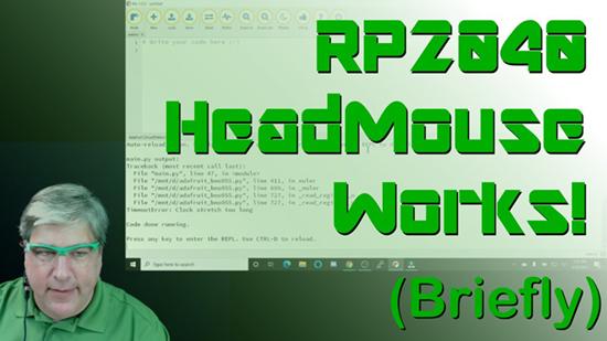RP2040 HeadMouse
