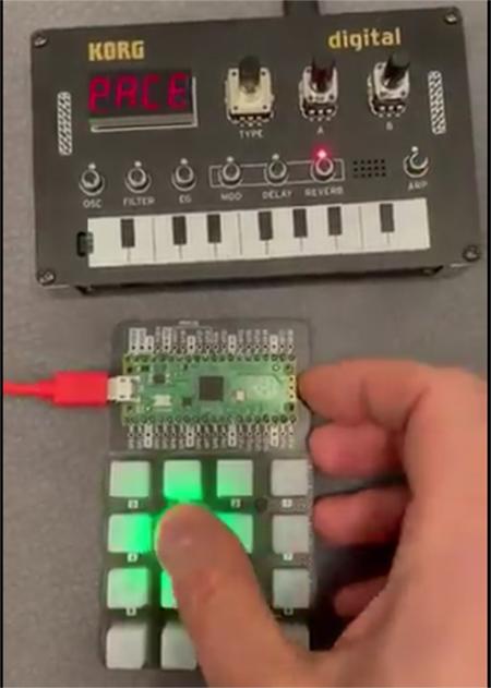 CircuitPython Pico MIDI Controller