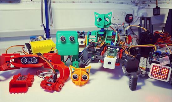 Robots in MicroPython