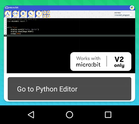 Python flashing beta