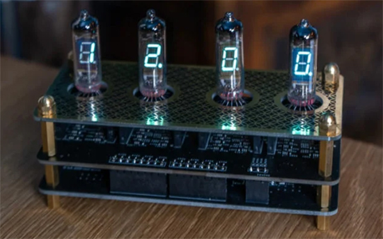 IV3 Nixie tube clock