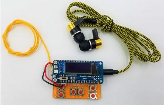 ScoutMakes Bluetooth FM Radio Kit