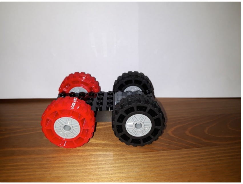 Big LEGO tire by spargher Thingiverse