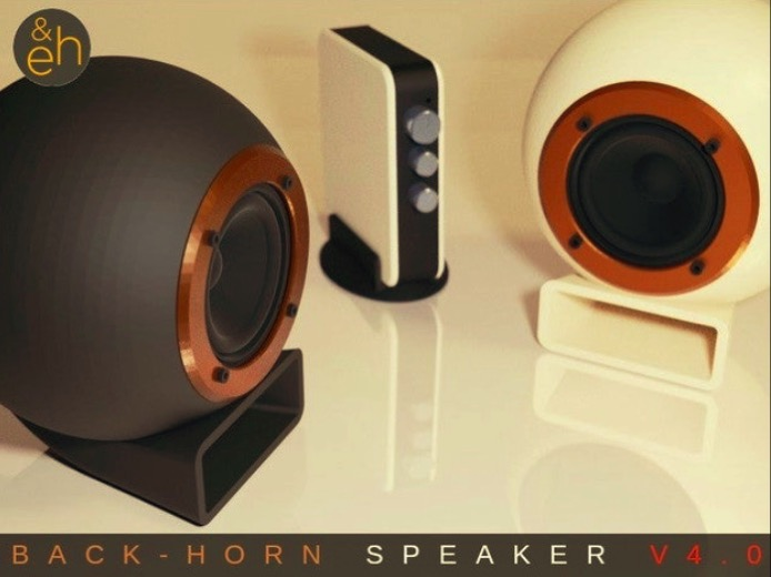 Back Horn Speaker V4 0 by guppyk Thingiverse