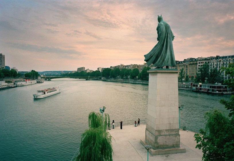 Benoit lapray superhero monuments designboom 01