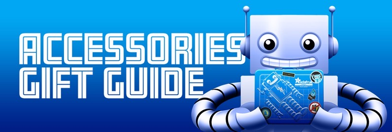 Adafruit accessories gift guide header