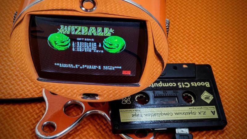 Pi zx spectrum emulator cassette feature