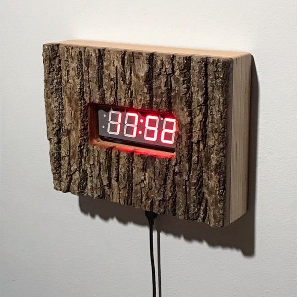 15 IV 21 bark clock III