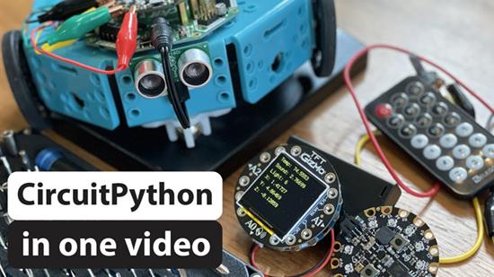 CircuitPython in one video