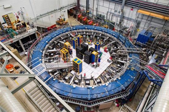 Fermilab's Muon g-2 experiment