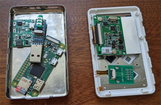 Raspberry Pi Zero in iPod classic case