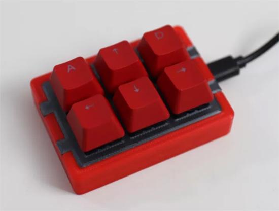 Stream deck keypad