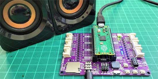 Playing MP3 on Pico using CircuitPython