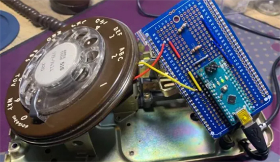 Quantum Rotary Dial