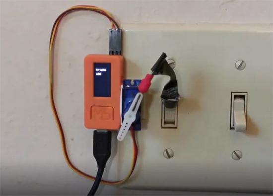 Servo and light switch