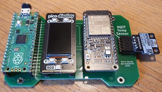 Pico WiFi Temp Sensor