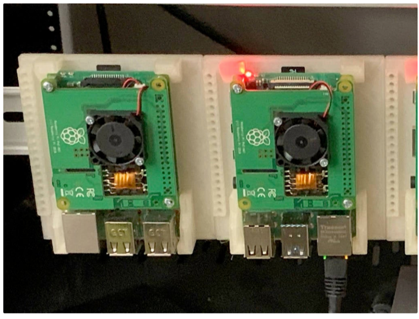DiN Rail mount for Raspberry Pi 4 by NotLikeALeafOnTheWind Thingiverse