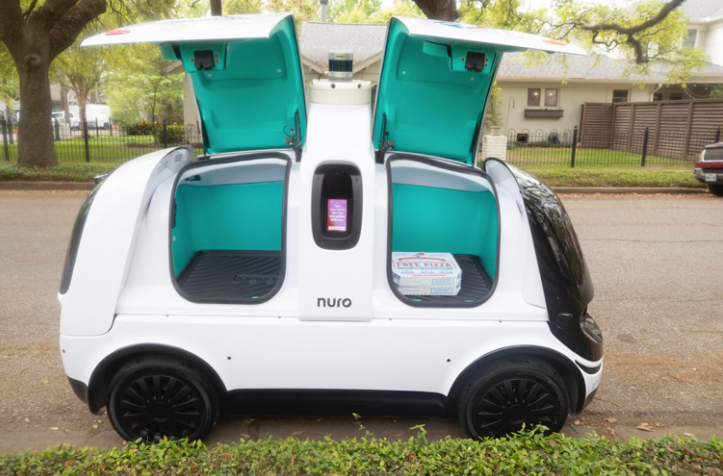Domino s pizzas now delivered with autonomous cars in Houston Roadshow