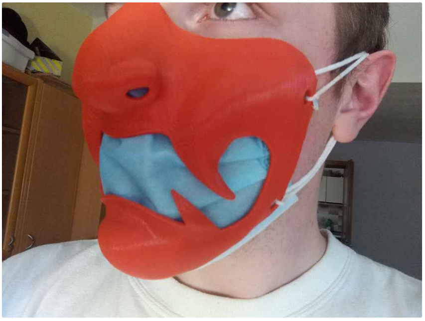 Festive facemask seal by dominuszagare Thingiverse