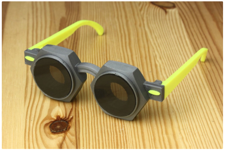Hex nut glasses by bigovereasy Thingiverse