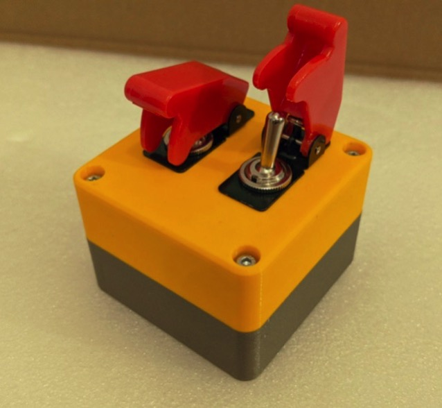 Toggle Switch Case by MadestCat Thingiverse