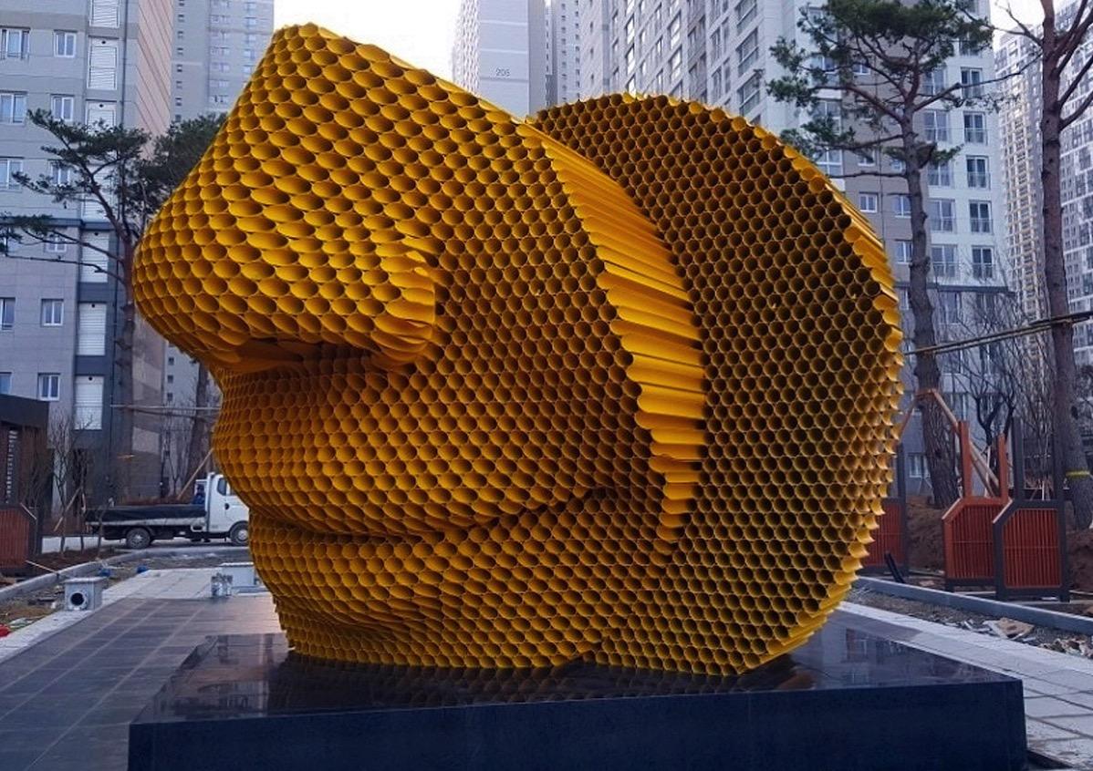 Yu chulhee sculptor pipe sculptures my modern met 13