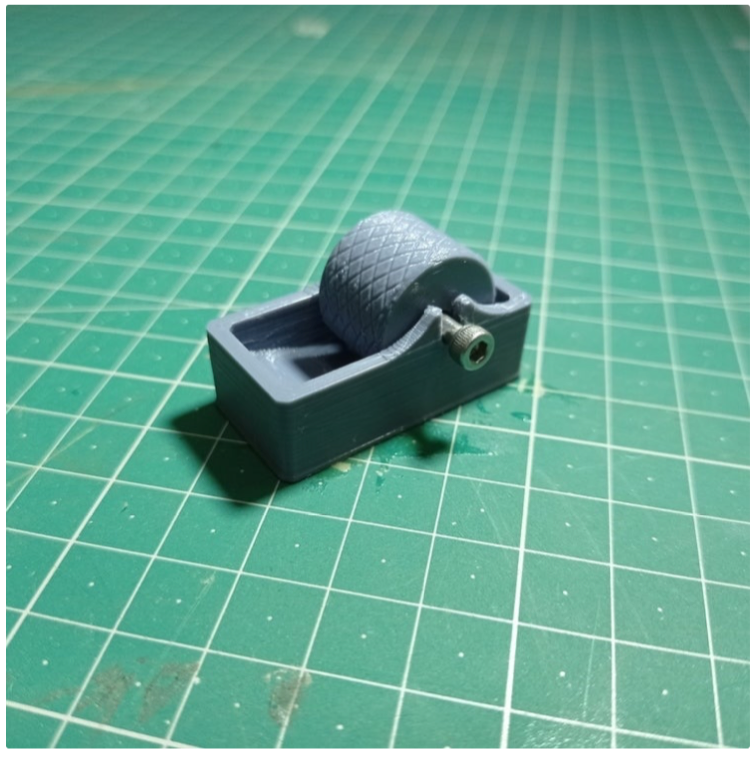 Leather Edge Paint Roller for m3 by LalinOwl Thingiverse