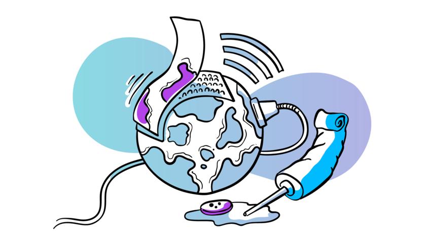 Outfunnel Blogpost20 Illustration FiveConnectors Header Color 1280x720