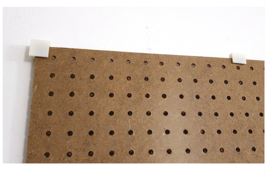 Pegboard wall mount system by stfur Thingiverse