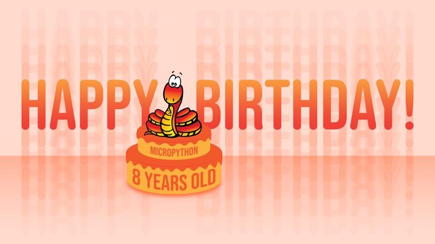 Adafruit Micropython Birthday 8 Fb Ig