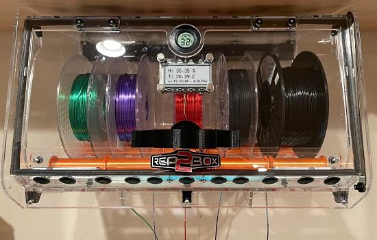 Filament Box Monitoring