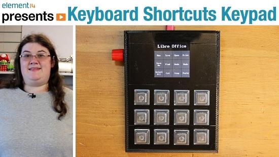 Keyboard Shortcuts Keypad