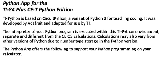 TI-84 running CircuitPython