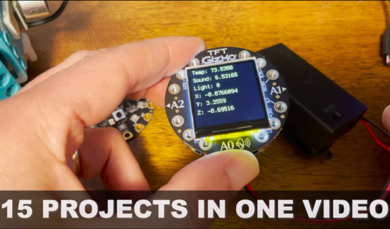 Derek Banas CircuitPython Tutorial Video