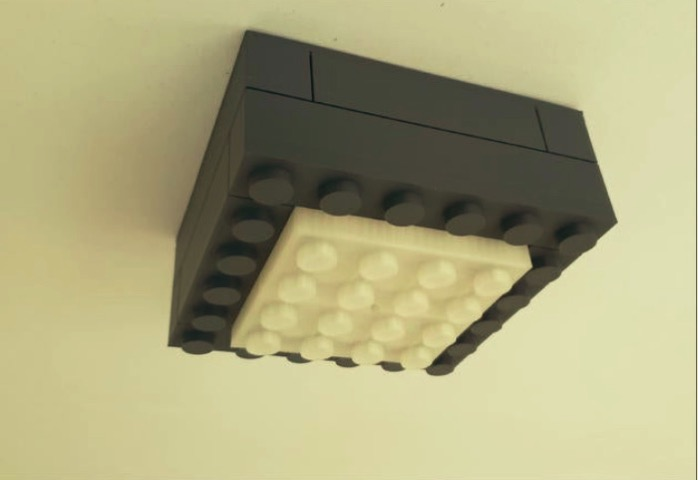 Lego Look Ceiling Lamp by RDL design Thingiverse