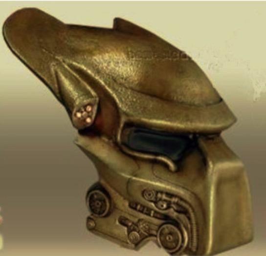 Predator Elder Bio Mask by Jace1969 Thingiverse