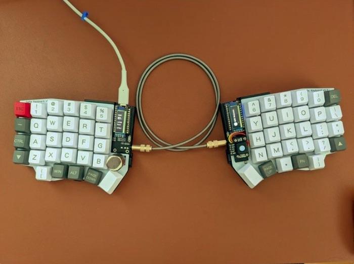 Sofle Keyboard Pimoroni Trackball Mount by foureight84 Thingiverse