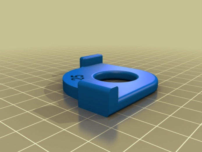 Woodworking Router Corner 25 50mm Guide by qystan Thingiverse