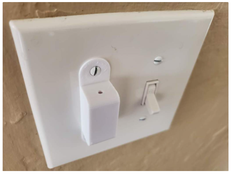 Light switch protective cover by shermluge Thingiverse