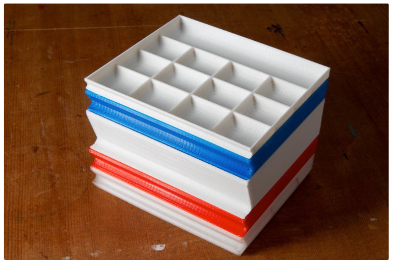 Stackable Tray for Screws Small Parts Storage by mdcaptures Thingiverse
