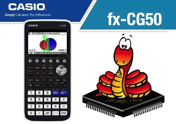 Casio fx cg50 PRIZM calculator