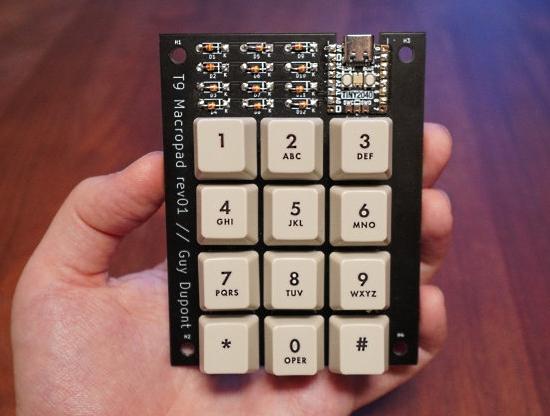 Standalone T9 Predictive Keyboard