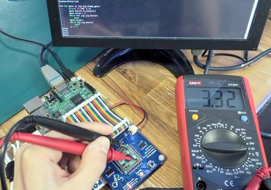 Using CircuitPython to veryify a board