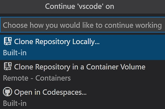 GitHub repository use from within Visual Studio Code