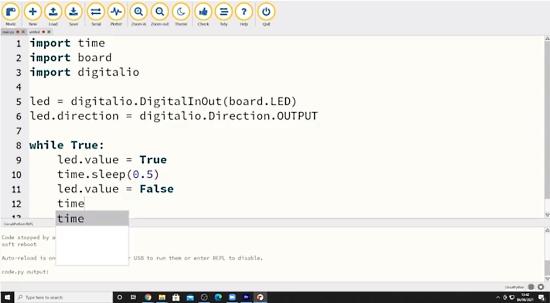 Raspberry Pi Pico - Using CircuitPython And The MU Editor for Beginners