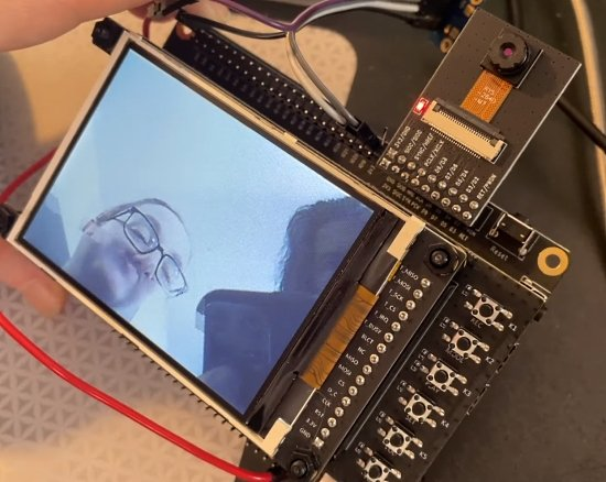 Camera support coming to CircuitPython on ESP32-S2