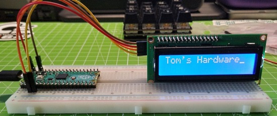 I2C LCD Display With Raspberry Pi Pico