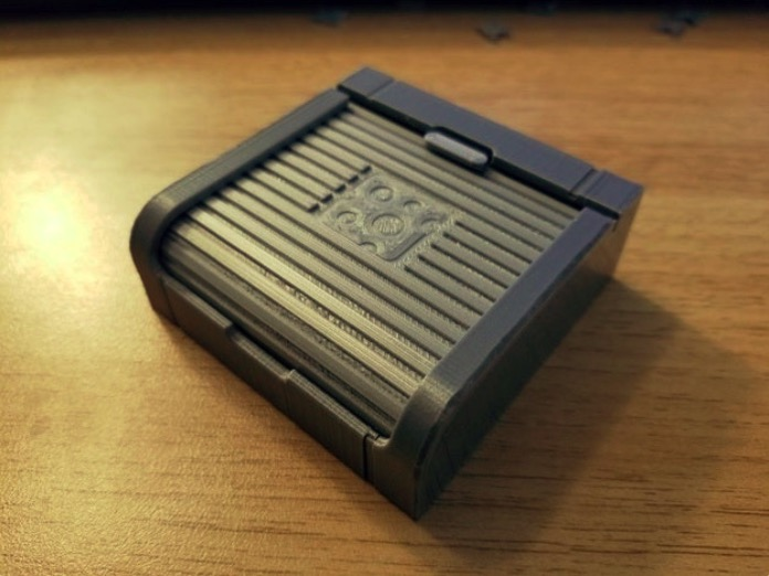 Cubitos Sliding Lid Tray by SalmonSquire Thingiverse